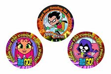 12 Teen Titans Birthday Party Favor Stickers (Bags Not Included) #1