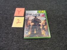 MICROSOFT XBOX 360 LEGO GEARS OF WAR 3 PLATINUM HITS VIDEO GAME NEW