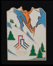 Freestyle Ski Olympic Pin Badge~SLC 2002~Bid Logo~LE~Salt Lake City~Winter Games