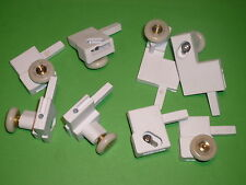 Shower Door Rollers, Wheels, Runners Set of 8 assemblies  SR75