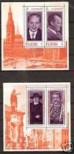 FUJEIRA #M: B25A-C-25A MNH HISTORYS FAMOUS GERMANS