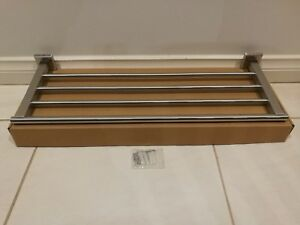 Stainless Steel Towel Rail Rack with 4 rods 600 mm