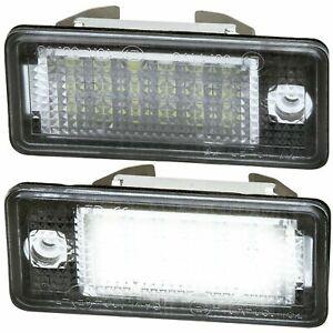 LED Kennzeichenbeleuchtung für Audi A3 8P Sportback | 3 türer | Cabrio [7301]