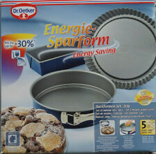 Dr. Oetker - Energiespar- Backset 3-tlg., Backformenset Blau