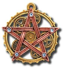 Anne Stokes Steampunk Penta Meridia Pendant For balance and development Insight