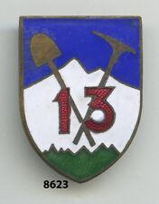 Insigne infanterie , 13 Cie. de Pionniers /  55  Rgt. d'Infanterie Alpine