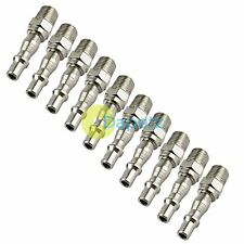"10 x PCL STYLE 1/4"" BSP MALE AIR FITTNGS QUICK RELEASE BAYONET TOOL LINE HOSE"