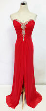 WINDSOR Red Prom Evening Formal Pageant Gown 2 - $140 NWT