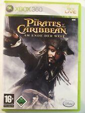 !!! XBOX 360 SPIEL Pirates of the Caribean Am Ende Welt, gebraucht aber GUT !!!