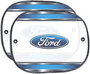 Ford Logo Universal Sunshade for Cars Truck Van Side Passenger Sun Shade