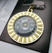 Orig.1953 Thermometer Massiv Metall Schlüsselanhänger Diamantschliff von RICHTER