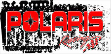 Polaris Banner Full Color Custom Vinyl Sleds Racing UTV Snowmobiles Man Cave