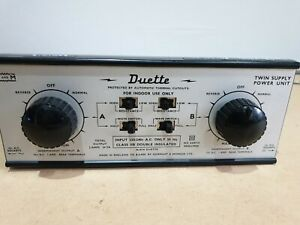 Hammant & Morgan H&M Duette Twin Tack Controller Tested works well both tracks