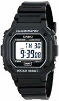 Casio F108WH-1A Black Resin Strap Digital Watch