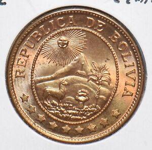 Bolivia 1942 50 Centavos 295777 combine shipping