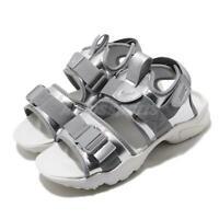 Nike Wmns Canyon Sandal Silver Grey Women Casual Lifestyle Shoes CW6211-001