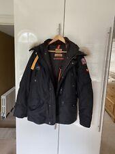 Parajumpers Jacket Large Black Fur Hood RRP £845