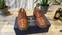Tricker's Bourton Brogue Size UK 6.5 Width 5 Marron Antique RRP £415
