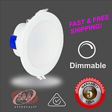 10W - LED Downlight - 5000k Cool White - Dimmable