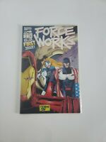 Marvel Comics 1994 FORCE WORKS #1 with Fold Out Poster Cover Comic Book