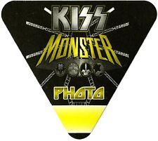 KISS Authentic 2012 Monster Tour Satin Cloth Backstage Pass photo