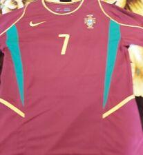Luis Figo Signed Portugal Jersey + Coa+Proof
