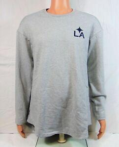 Adidas MLS LA Galaxy Tango Sweat Long Sleeve Training Sweatshirt Sz M NEW RARE