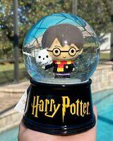 "Wizarding World Harry Potter Hedwig Chibi Snow Globe Christmas Gift New 6"""