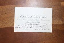 ✒ C.A. Charles LADREIT de LACHARRIERE à Aurélien SCHOLL expo universelle 1878