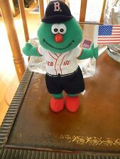 Boston Red Sox Wally the Green Monster Fenway Franks Plush SGA July 4, 2002