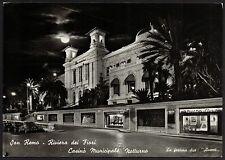 AD1173 Imperia - Provincia - Sanremo - Casinò Municipale di notte