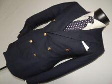 Polo Ralph Lauren men's Blue Double Breasted Blazer size 34 Short