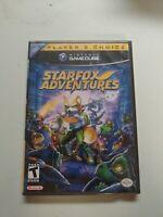 StarFox Adventures Player's Choice *FACTORY SEALED* (Nintendo GameCube, 2003)