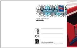 2021 Canada Post Prepaid Pre-stamped Post Card Sending Hugs / des câlins