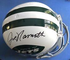 Joe Namath Autographed Signed Full Size Throwback New York Jets Helmet JSA COA