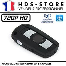 BMCLE CLÉ DE VOITURE CAMÉRA ESPION HD 720P JUSQU'À 32 GO INFRAROUGE DÉTECTION
