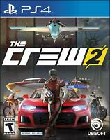 The Crew 2 Playstation 4 (PS4) - Brand New Factory Sealed - Free Shipping!