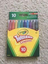 Crayola 10 Ct Twistables Fun Effect Crayons