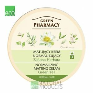 Green Pharmacy Natural Face Cream Normalizing Matting Green Tea 150ml