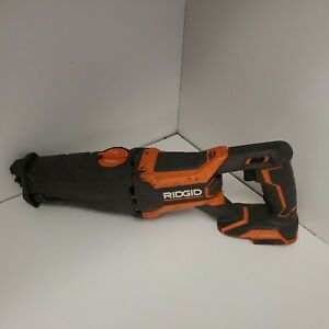 RIDGID 18v Gen5X Cordless Reciprocating Saw (Tool-Only) R8642 Pre-Owned Tested