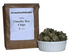 FarmerDavePetSupply 3 lb TIMOTHY HAY CHIPS -- Rabbits,Chinchillas,Guinea Pigs