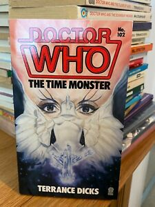 doctor who target book -  THE TIME MONSTER - 1st edition
