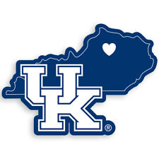 Siskiyou NCAA Home State Decal White Kentucky Wildcats 5 Inches