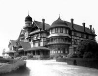 """1910 Lordsburg College, La Verne, California Old Photo 8.5"""" x 11"""" Reprint"""
