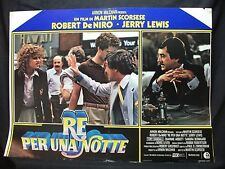 FOTOBUSTA CINEMA - RE PER UNA NOTTE - ROBERT DE NIRO - 1983 - COMMEDIA - 01