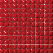 MOSAICO ROSSO RED DREAM 30x30 su rete