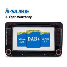 "7"" Car radio DVD GPS Sat Nav for VW Golf MK5 6 EOS Skoda Caddy Seat Passat DAB+"