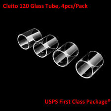 4pcs/Pack Aspire Cleito 120 Replacement Pyrex Glass Tube