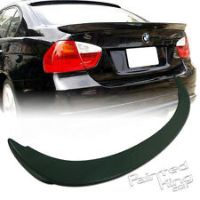 BMW E90 3-Series A Style Rear Trunk Spoiler 06-11 Unpainted ABS Sedan 323i M3