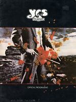 YES 1978 TOURMATO U.S. TOUR CONCERT PROGRAM BOOK-JON ANDERSON-VG TO EXCELLENT